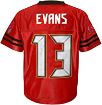 Outerstuff Mike Evans Tampa Bay Buccaneers #13 Red Youth Home Player Jersey