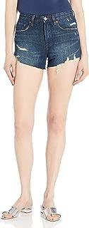 [BLANKNYC] Women's High Rise 5 Pocket Distressed Short