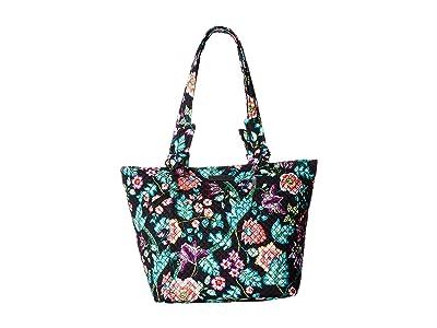 Vera Bradley Hadley East/West Tote (Vines Floral) Tote Handbags