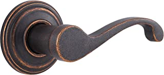 Kwikset 720CHL 501 CP Commonwealth Hall/Closet Lever, Rustic Bronze