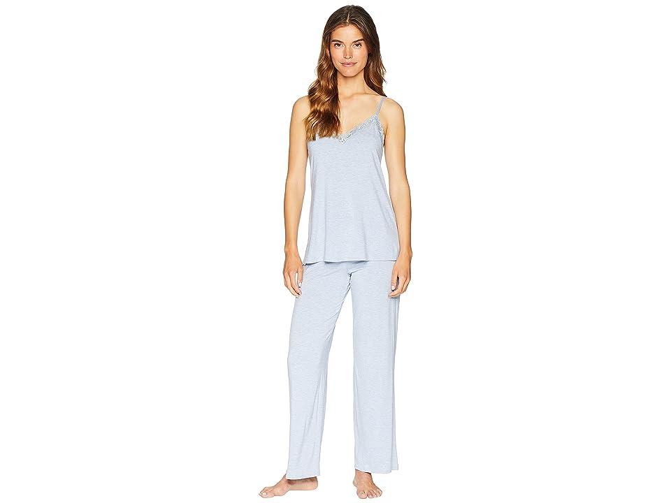 Natori Feathers Cami Pajama (Heather Blue) Women
