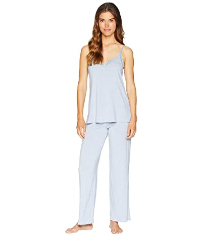 Natori Feathers Cami Pajama (Heather Blue) Women
