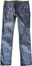 Dreampop By Cynthia Rowley Girls Foil Skinny Jeans (10, Indigo)