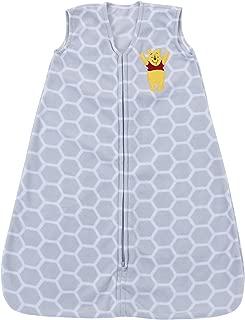Disney Baby Winnie The Pooh Super Soft Microfleece Wearable Blanket, Gray, Medium
