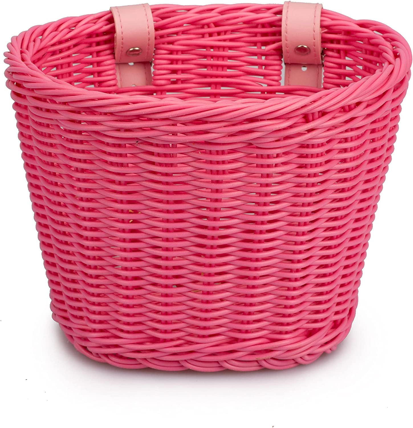 Bike Front Basket Girls Latest item Boys Small Woven Hand Direct stock discount Gifts Kids Plastic