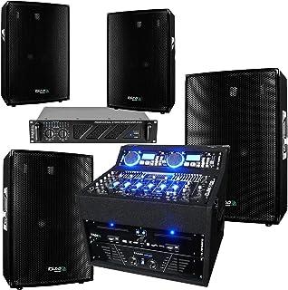 Sono Complète Double CD/USB - Table de Mixage - 2 Amplis Sono 960w et 480W - 4 Enceintes 2x700w et 2x300w - 1 Meuble Régie...