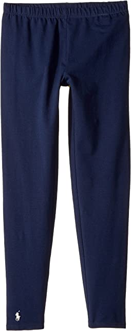 Polo Ralph Lauren Kids Solid Jersey Leggings (Little Kids/Big Kids)