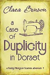 A Case of Duplicity in Dorset (A Freddy Pilkington-Soames Adventure Book 4) (English Edition) Format Kindle