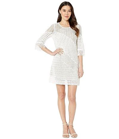 NIC+ZOE Petite Beach Stroll Dress (Paper White) Women