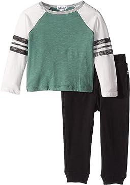 Long Sleeve Raglan Shirt Set (Infant)
