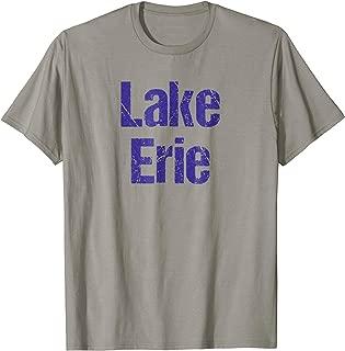 Lake Erie T-Shirt Ohio Great Lakes Fishing, Boating Shirt