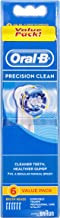Oral-B Precision Clean Replacement Electric Toothbrush Heads Refills, 6 pack