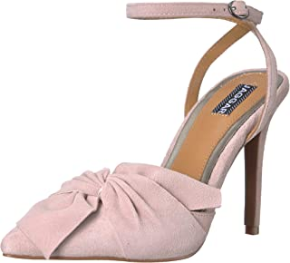 Jaggar Womens 50171018 Union Bow Pointed Toe Stilletto High Heel Pink Size:
