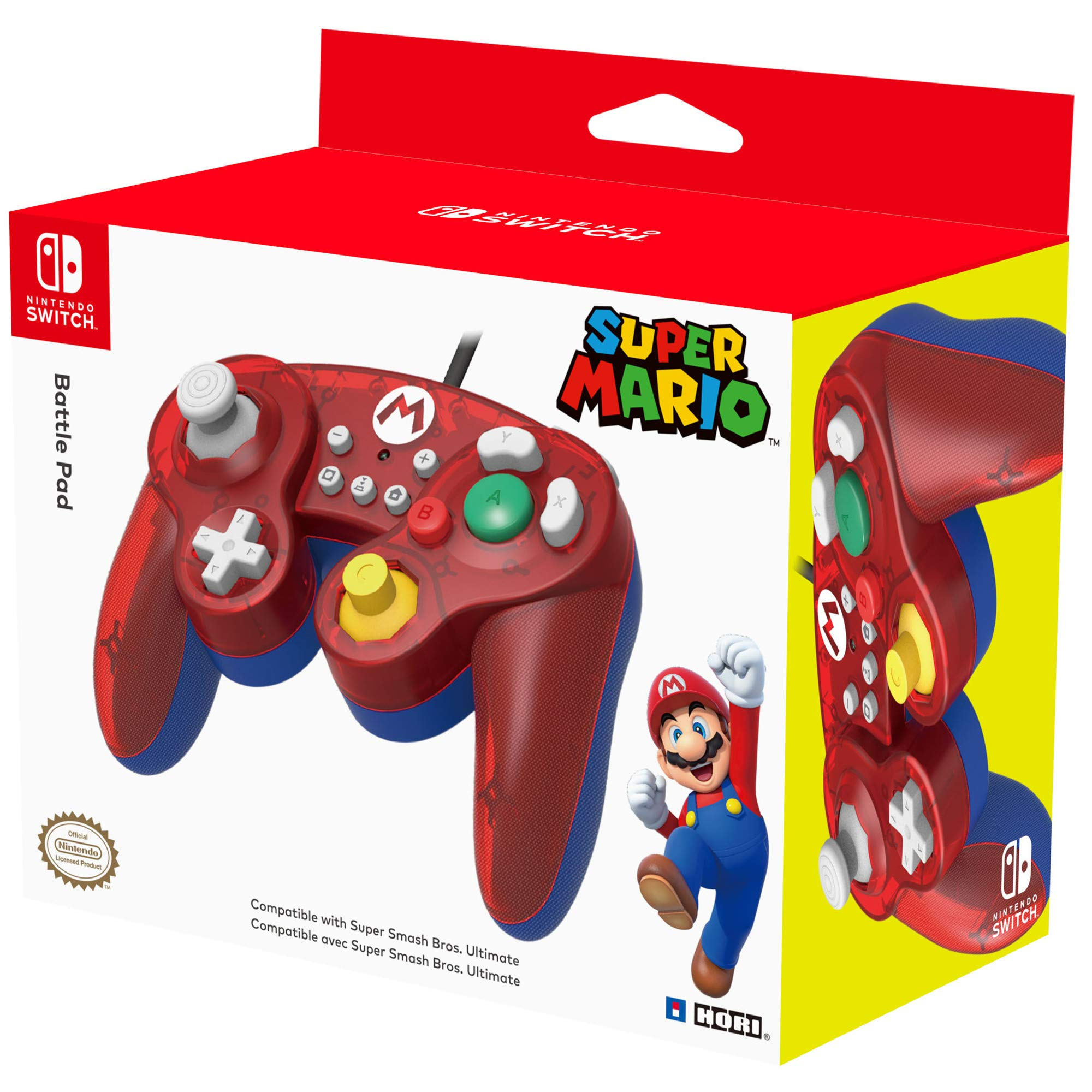 HORI - Battle Pad Mario (Nintendo Switch): Amazon.es: Videojuegos