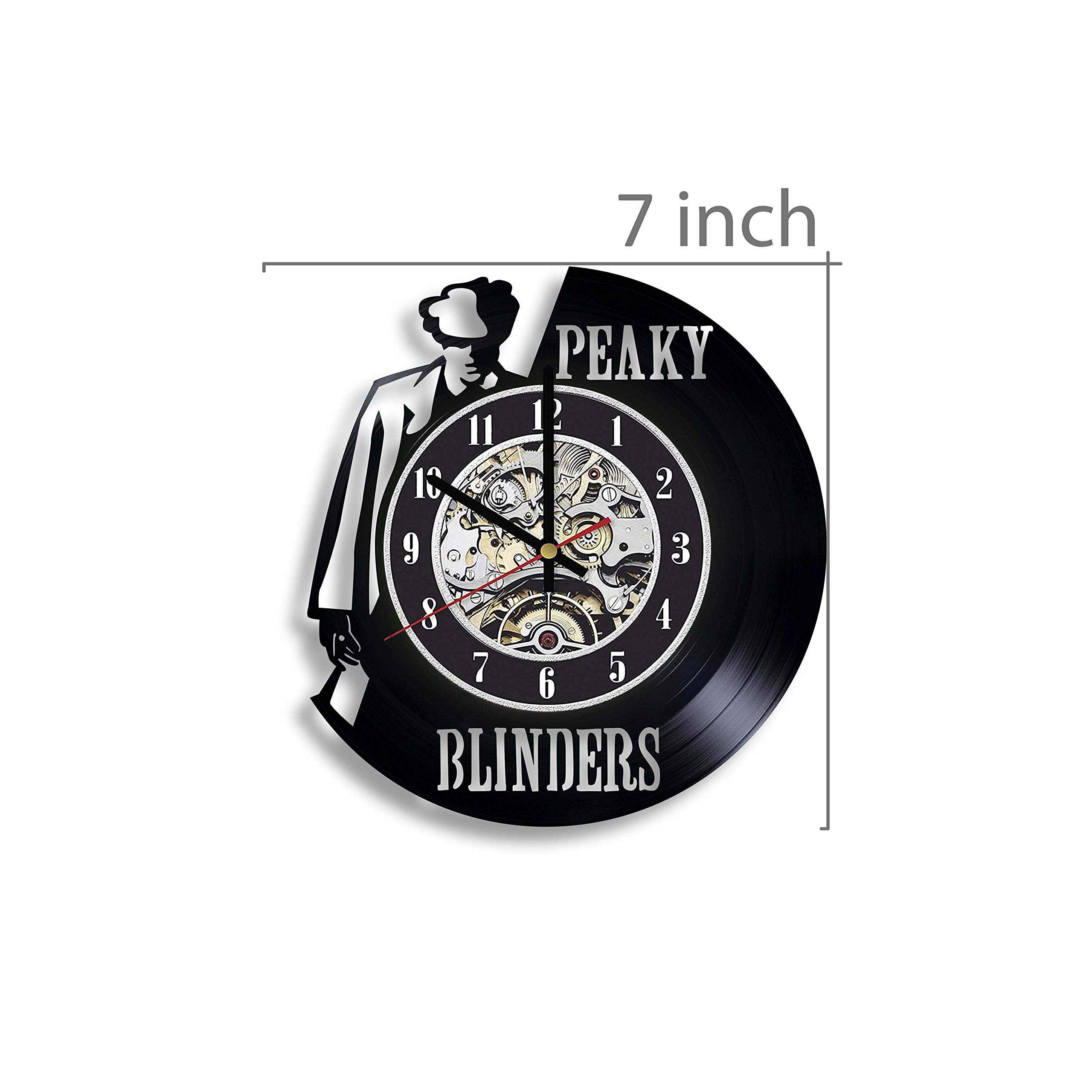 Gifts by N Peaky Blinders Vinyl Record Wall Clock, Peaky Blinders TV  Series, Peaky Blinders Artwork, Peaky Blinders Clock, Thomas Shelby Art,  Peaky Blinders Wall Decor, Cillian Murphy Art- Buy Online in
