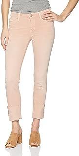 Women's Tally Deep Cuff Crop Skinny 5 Pocket Jean