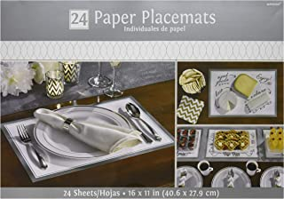 Amscan 670603.18 Placemats Party Decorations, 11