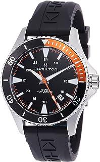Hamilton - Reloj de Hombre automático 40mm Correa de Goma Color Negro H82305331