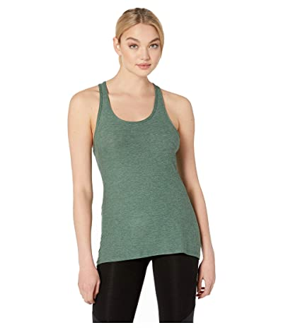 Beyond Yoga Travel Lightweight Racerback Tank Top (Aloha Green/Dark Tropic) Women
