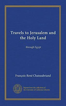 Travels to Jerusalem and the Holy Land (v.2): through Egypt