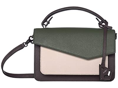 Botkier Cobble Hill Crossbody (Hunter Combo) Cross Body Handbags