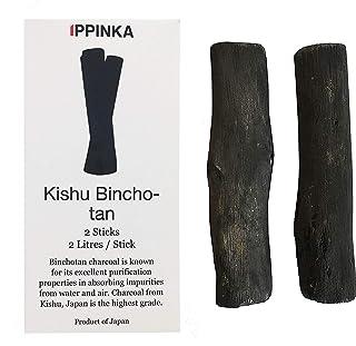 Kishu Binchotan Charcoal Sticks, 2 Sticks, 1 Stick Filters Up 2 Litres of Water