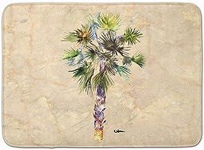 Caroline's Treasures Palm Tree Floor Mat, Multicolor