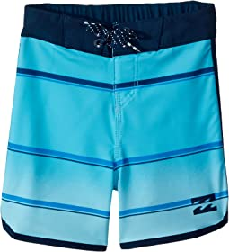 Billabong Kids - 73 X Stripe Boardshorts (Toddler/Little Kids)