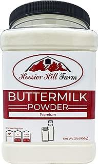 Buttermilk Powder, Hoosier Hill Farm (2 lbs), Hormone free. Made in USA