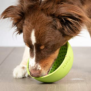 Hyper Pet Lickimat Wobble - Slow Feeder, Anxiety Relief, Boredom Buster (Dog and Cat Bowl - Perfect for Dog Food, Dog Treats, Yogurt, or Peanut Butter)