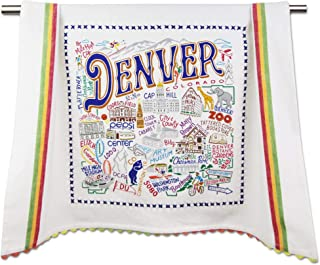Catstudio Denver Dish & Hand Towel | Beautiful Award Winning Home Decor Artwork | Great For Kitchen & Bathroom