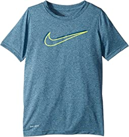 Dry Legend 3D Swoosh Short Sleeve Shirt (Little Kids/Big Kids)