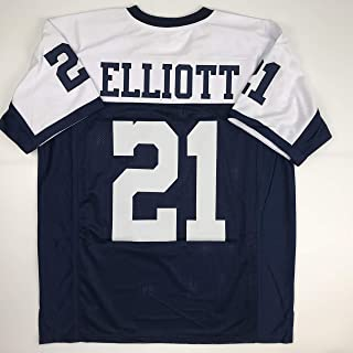 Unsigned Ezekiel Elliott Dallas Thanksgiving Day Custom Stitched Football Jersey Size XL New No Brands/Logos