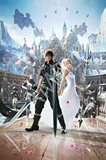 Best Print Store - Final Fantasy XV, Noctis and Luna (stand by me) Poster (24x36 inches)