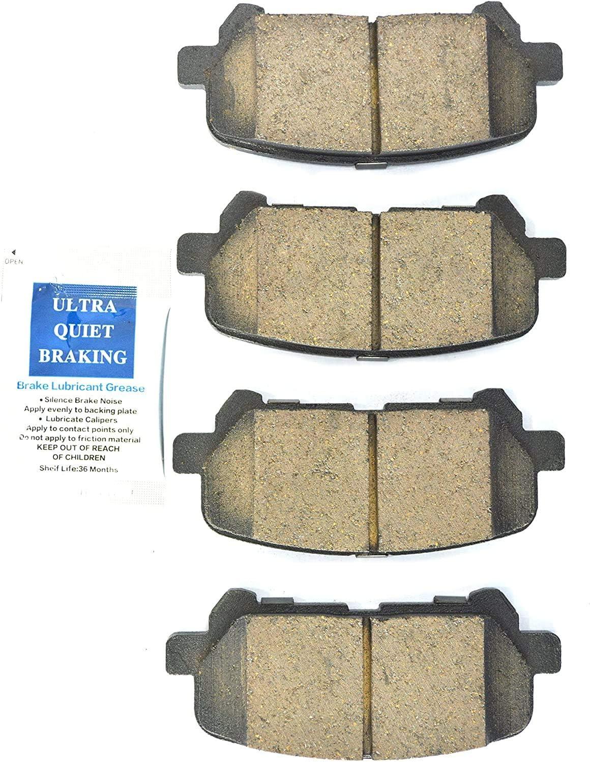 Optimizer Dash 4 CFD1585 Premium Brake Pad Ceramic