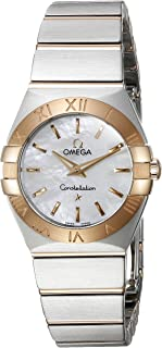 Women's 123.20.24.60.05.001 Constellation Mother Of Pearl Dial Watch