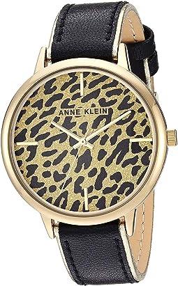 Black/Leopard Print