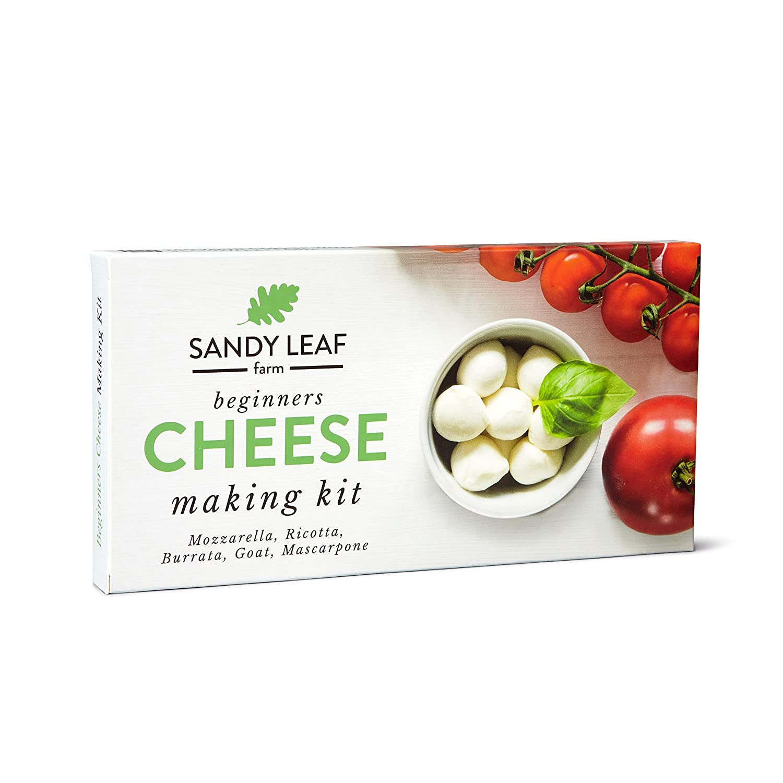 Sandy Leaf Farm Cheese Making Kit Homemade R and Supplies cheap DIY Max 70% OFF -