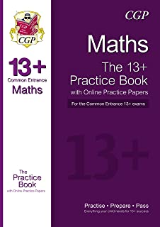 13+ Maths Practice Book for the Common Entrance Exams with Answers & Online Practice Papers