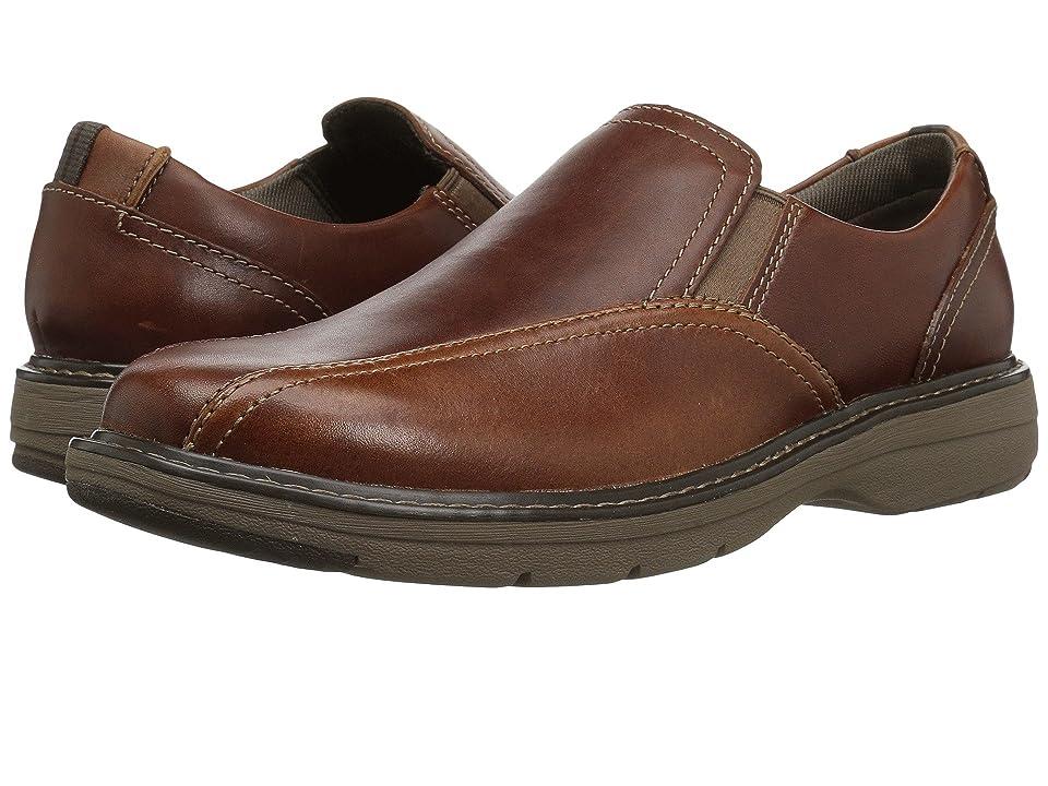 Clarks Cushox Step (Dark Tan Leather) Men