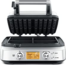 Breville The Smart Waffle®, Silver BWM640BSS