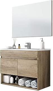 ARKITMOBEL 305110H - Mueble de baño Cotton con 2 Puertas y