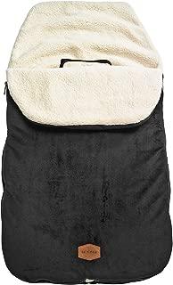 JJ Cole Original Bundleme Canopy Style Bunting Bag, Black
