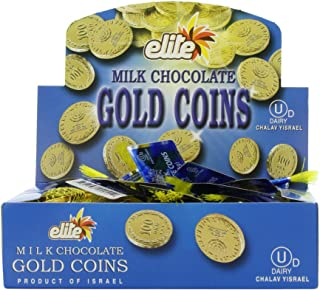 small gold chocolate coins