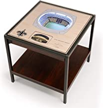 YouTheFan NFL New Orleans Saints 25-Layer Team StadiumViews Lighted Table