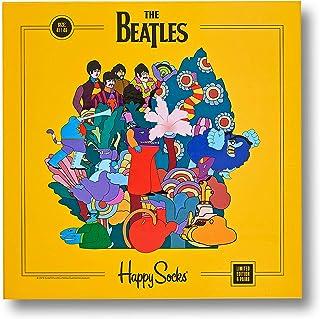 Happy Socks, Los Beatles Pepperland Calcetines De Los Hombres, Azul/multi