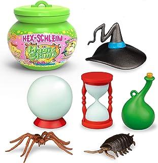 CRAZE Magic Slim Bibi Blocksberg magiczna zabawka, model, w zestawie figurka, welon dziecięcy w kotłu, 150 ml 17586