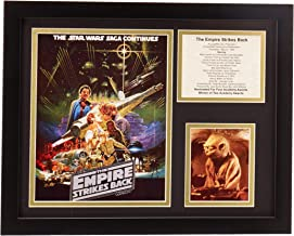 """Legends Never Die """"Star Wars The Empire Strikes Back Framed Photo Collage, 11 x 14-Inch"""