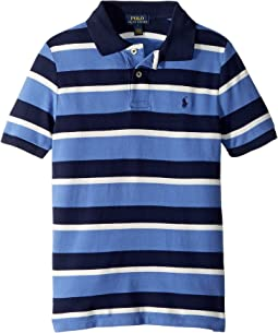Striped Featherweight Mesh Polo (Little Kids/Big Kids)