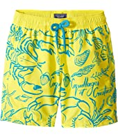 Vilebrequin Kids - Flocked Shellfish Swim Trunk (Big Kids)